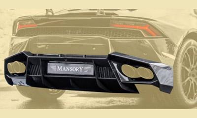Диффузор заднего бампера (карбон) Mansory для Lamborghini Huracan