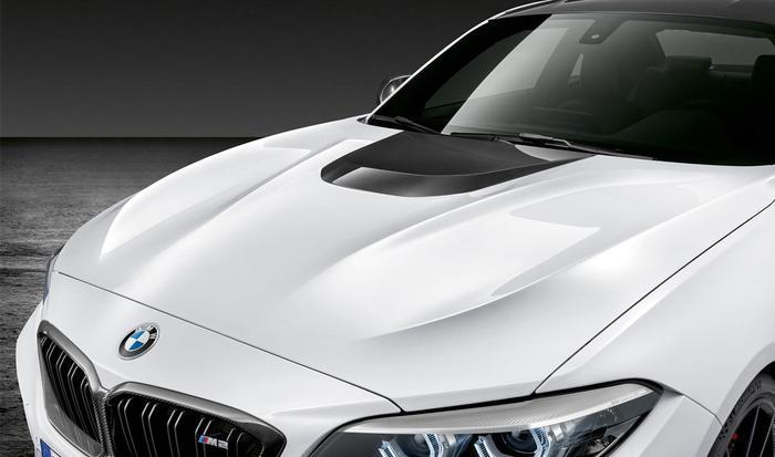 Крышка капота (карбон) M Performance для BMW 2 Series F22 (код 41612449807)