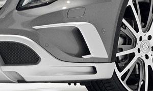 Накладки на передний бампер Brabus для Mercedes GLA-class X156