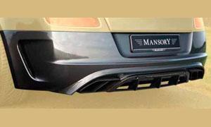 Задний бампер (с насадками и карбоновым диффузором) Mansory для Bentley Continental GT II