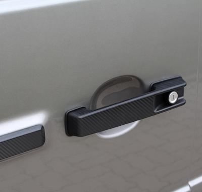 Карбоновые накладки на дверные ручки