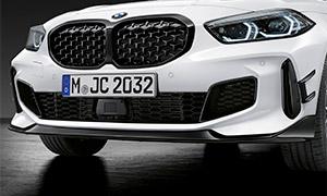 Спойлер переднего бампера M Performance для BMW 1 Series F40