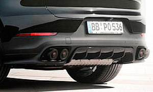 Диффузор заднего бампера Techart для Porsche Cayenne Coupe E3