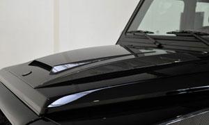 Накладка на капот (под покраску) Brabus V12 для Mercedes G-class W463
