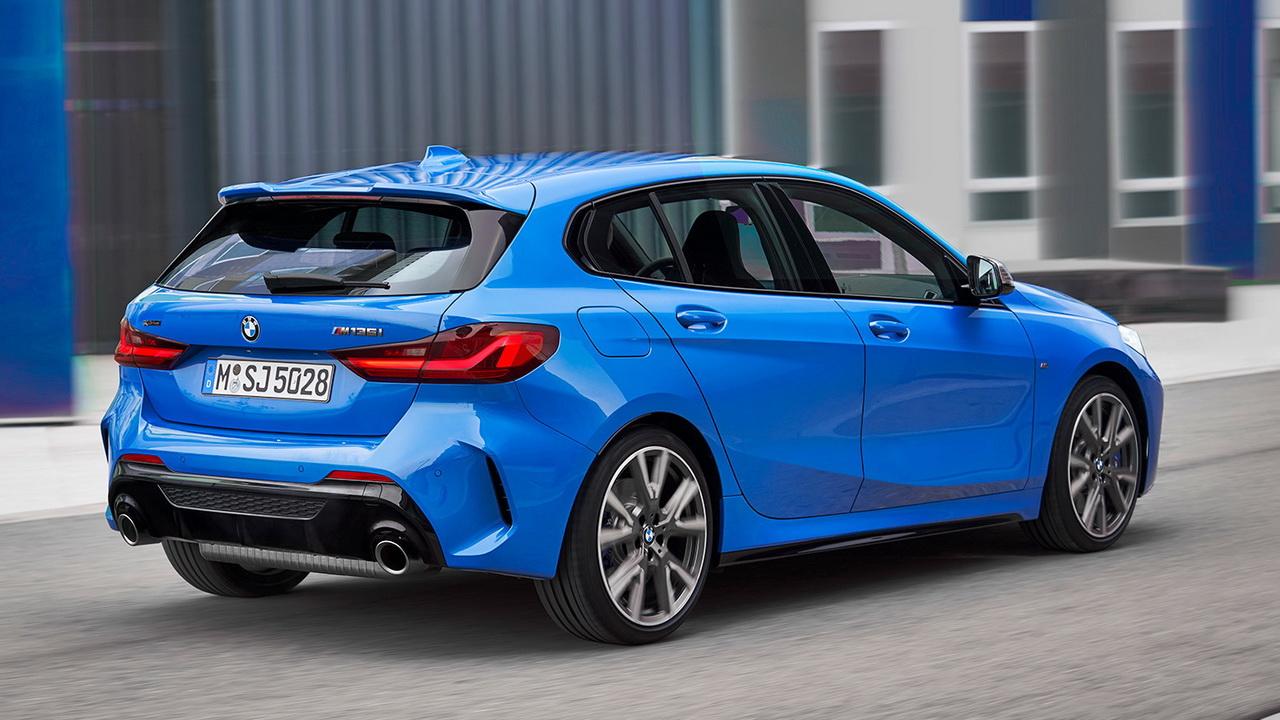 Задний бампер M-Sport для BMW 1 Series F40
