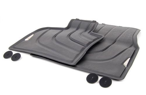 Всепогодные ножные коврики (задние) для BMW X6 F16 (код 51472458441)
