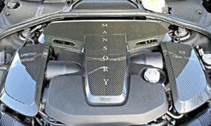 Накладка моторного отсека (карбон) Mansory для Bentley Continental GT II