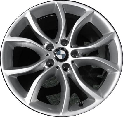 Легкосплавное дисковое колесо (V-образные спицы) 594 для BMW X6 F16 (код 36116858873)