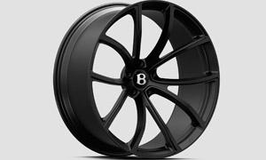 Колесные диски Forged Black (кованые) R24 (комплект) Kahn Design для Bentley Bentayga