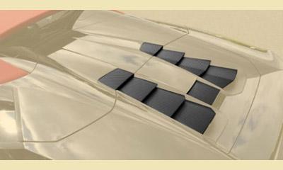 Накладки на моторный отсек (для Spyder) Mansory Torofeo для Lamborghini Huracan