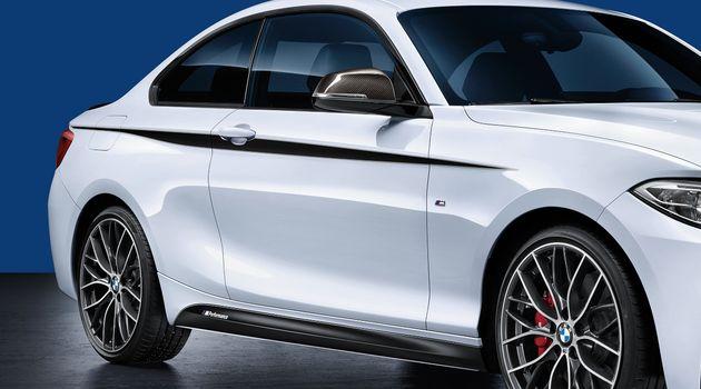 Фольга (акцентная полоса) M Performance для BMW 1 Series F20/F21 (код 51142365552)