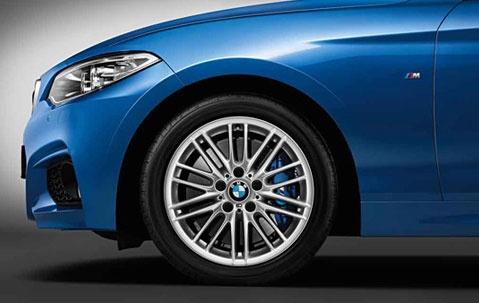 Легкосплавное дисковое колесо (сдвоенные спицы) 460 для BMW 1 Series F20/F21 (код 36117846783)