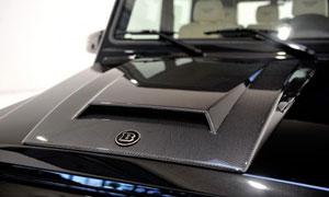 Накладка на капот (карбон) Brabus V12 для Mercedes G-class W463