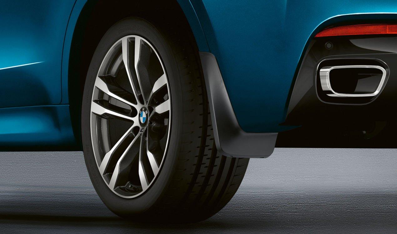 Комплект брызговиков (передние) для BMW X6 F16 (код 82162353919)