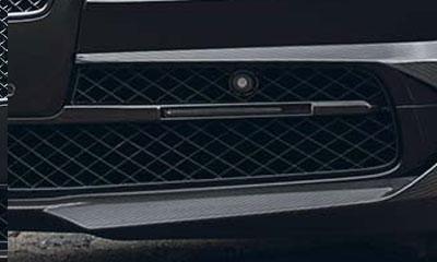 Вставки в передний бампер (с LED-оптикой) Startech для Bentley Flying Spur II