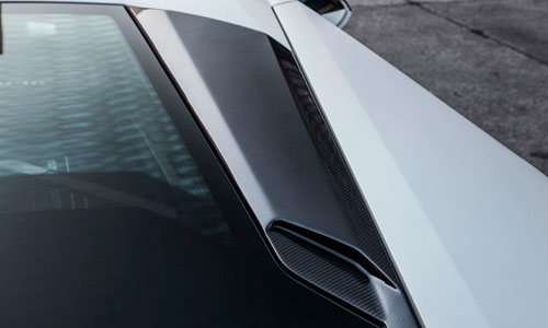 Накладки на воздуховоды крыши (карбон) Novitec для Lamborghini Huracan LP 570