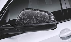Колпаки зеркал (карбон) M Performance для BMW 1 Series F40