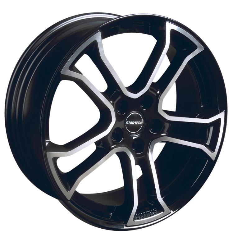 Комплект дисков MONOSTAR R black/silver 20