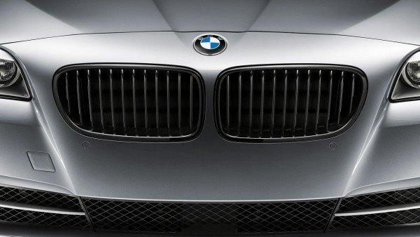 Передняя декоративная решетка радиатора M Performance для BMW X1 F48 (код 51712407732)
