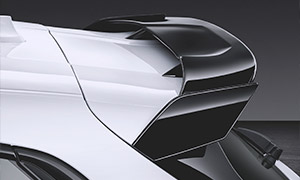 Спойлер на крышку багажника M Performance для BMW 1 Series F40