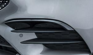 Вставки в передний бампер Brabus для Mercedes A-class W177
