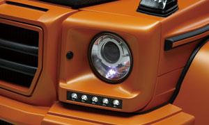 Окантовка фар (с LED-оптикой) WALD Black Bison G63 для Mercedes G-class W463