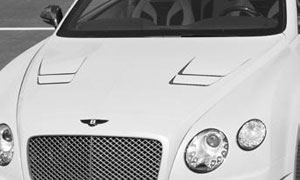 Капот (под покраску) Mansory для Bentley Continental GT II