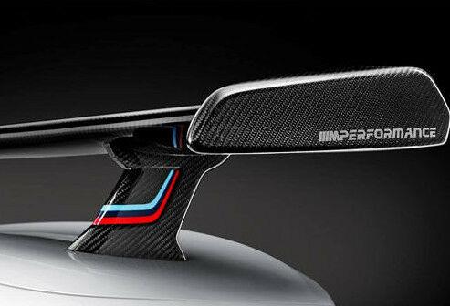 Задний спойлер (карбон, обтекаемый, цветной) M Performance для BMW 2 Series F22 (код 51192409319)