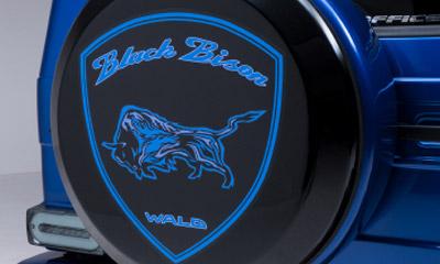 Крышка запасного колеса WALD Black Bison G63 для Mercedes G-class W463