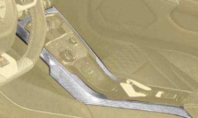 Накладки на центральную консоль (карбон) Mansory Torofeo для Lamborghini Huracan