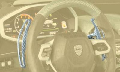 Лепестки переключения передач (карбон) Mansory для Lamborghini Huracan