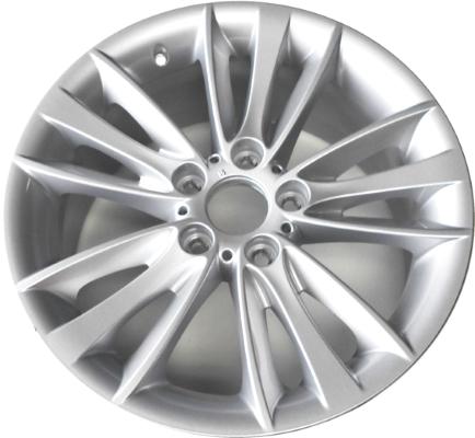 Легкосплавное дисковое колесо (W-образные спицы) 263 для BMW 1 Series E81/E87 (код 36116779797)