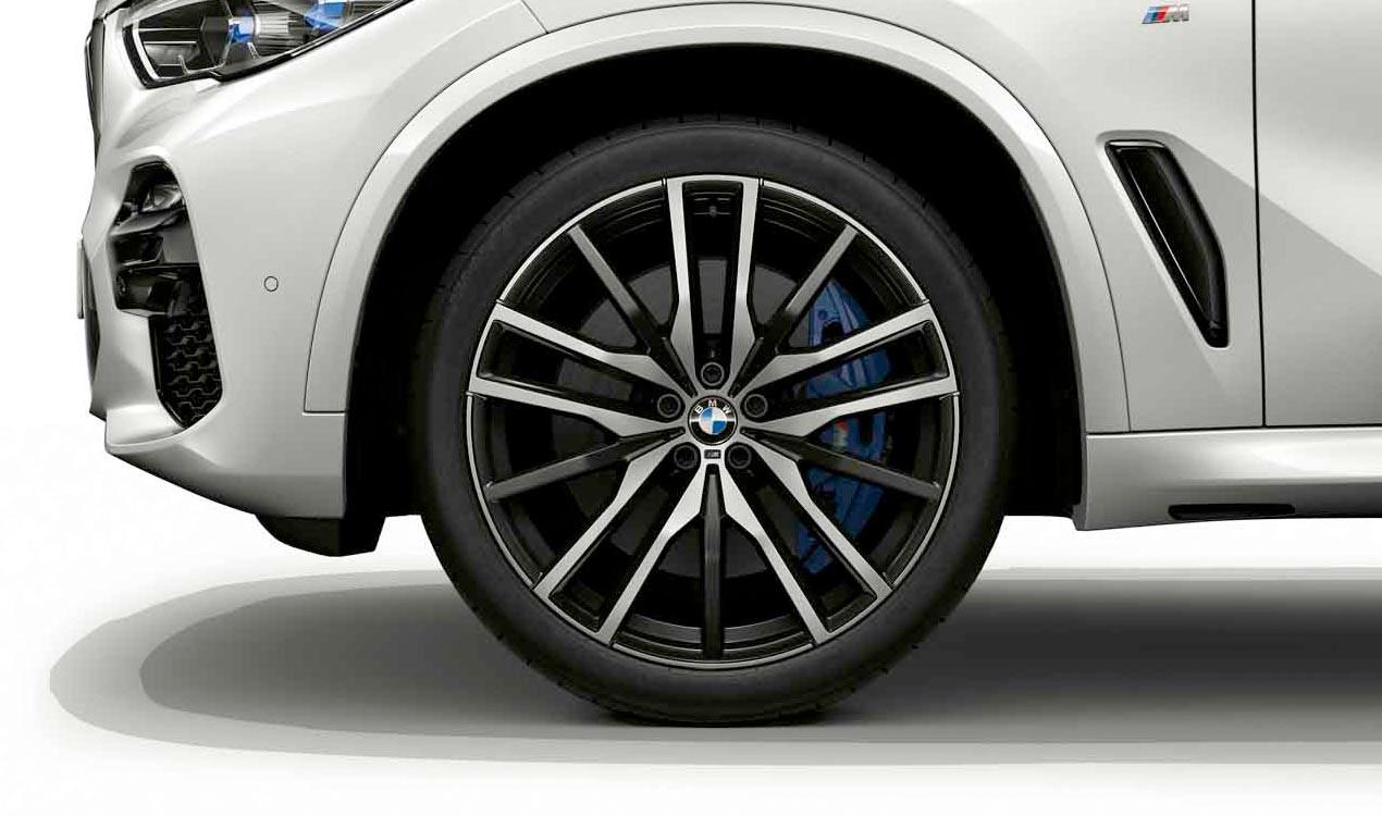 Легкосплавное дисковое колесо (сдвоенные спицы) 742M для BMW X5 G05 (код 36118090014)
