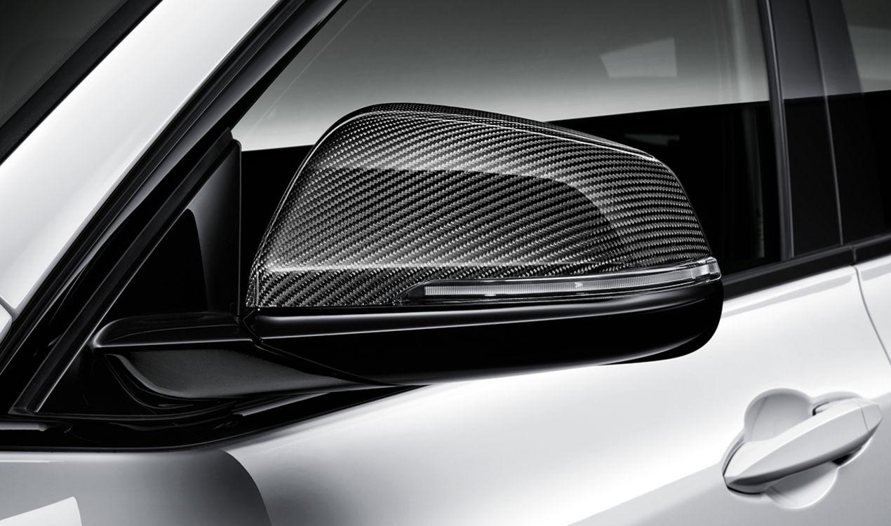 Обтекатель наружного зеркала (карбон) M Performance для BMW X1 F48 (код 51162407277)
