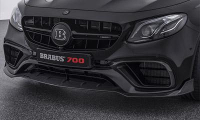 Спойлер переднего бампера (карбон) Brabus E63 для Mercedes E-class Coupe C238
