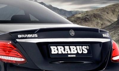 Спойлер на крышку багажника (карбон) Brabus E63 для Mercedes E-class Coupe C238