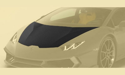 Капот (карбон) Mansory для Lamborghini Huracan