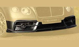 Передний бампер (с карбоновым спойлером) Mansory для Bentley Continental GT II