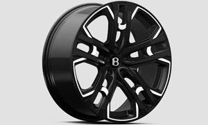 Колесные диски Le Mans Black R23 (комплект) Kahn Design для Bentley Bentayga