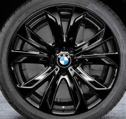 Легкосплавный колесный диск (звездообразные спицы) 491 для BMW X6 F16 (код 36116858528)