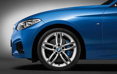Легкосплавное дисковое колесо (сдвоенные спицы) 461 для BMW 1 Series F20/F21 (код 36117846785)