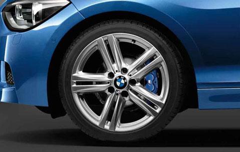 Легкосплавное дисковое колесо (звездообразные спицы) 386 для BMW 1 Series F20/F21 (код 36117845853)