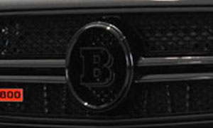 Логотип в решетку радиатора Brabus V12 для Mercedes G-class W463