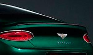 Спойлер на крышку багажника (карбон) Mulliner для Bentley Continental GT III
