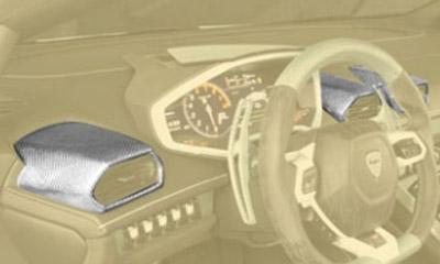 Накладки на воздуховоды (карбон) Mansory Torofeo для Lamborghini Huracan