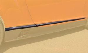 Молдинги на двери (карбон) Mansory для Bentley Continental GT II