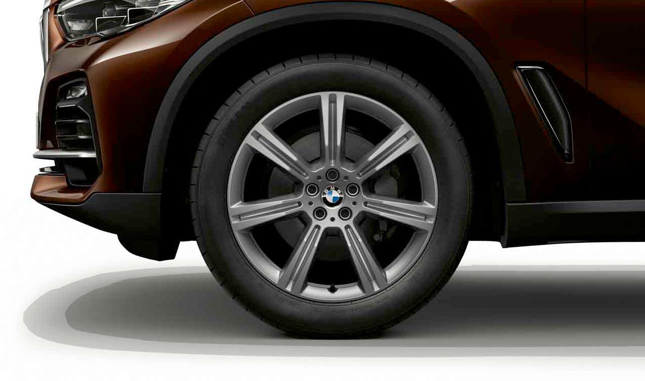 Легкосплавный колесный диск (звездообразные спицы) 736 для BMW X5 G05 (код 36116883754)