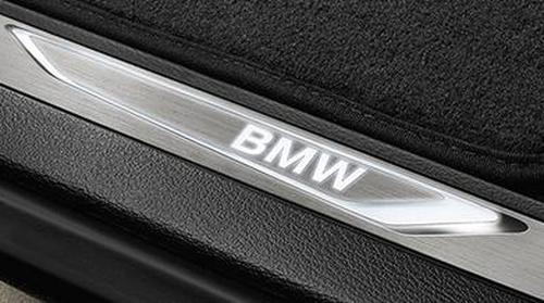 Молдинг порога с подсветкой (левый) для BMW X6 F16 (код 51472289608)