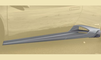 Накладки на пороги (карбон) Mansory для Lamborghini Huracan