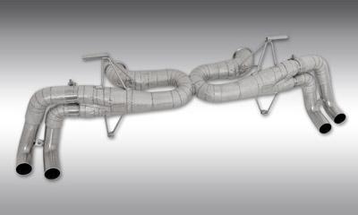 Выхлопная система Race (с регулировкой уровня звука) Novitec для Lamborghini Huracan LP 570